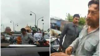 Jackie Shroff Turns Real Life Cop To Manage Traffic in Lucknow
