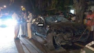 Mumbai: Jaguar Rams Ten Vehicles, Leaves Four People Injured; Driver Arrested