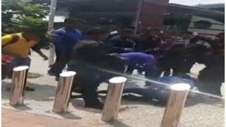 VIDEO: कानपुर के वाटर पार्क में बाउंसरों ने महिला को जमकर पीटा, भीड़ वीडियो बनाती रही