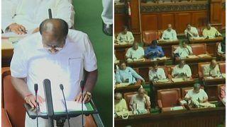 कर्नाटक: कुमारस्वामी ने पेश किया बजट, किसानों का 2 लाख तक का कर्ज माफ, पर पेट्रोल-डीजल के दाम बढ़ाए