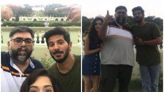 Dulquer Salmaan And Mithila Palkar Enjoy A Trip To The Land Of Baahubali Ahead Of Karwaan Release