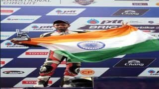 Sandesh Prasannakumar Creates New Landmark For Indian Racers