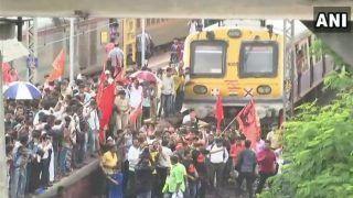 Maharashtra Bandh Mumbai Local Train Status Live Updates