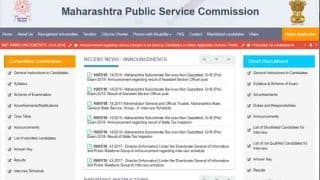 MPSC result 2018: State tax inspector grade B pre-exam रिजल्ट रिलीज, mpsc.gov.in पर देखें