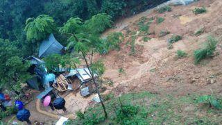 मणिपुर में भारी बारिश से भूस्खलन, सात लोगों की मौत और दो लापता