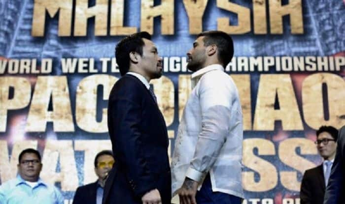 Fight of Champions reunites former foes Pacquiao and De La Hoya