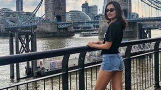Miss World Manushi Chhillar Looks Hot in Denim Shorts While Vacationing in London, Check Pics