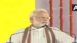 Modi in Shahjahanpur: PM Addresses 'Kisan Kalyan Rally', Launches Scathing Attack on Congress
