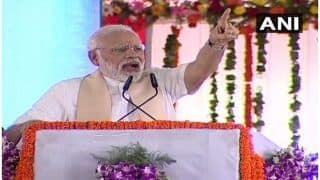 PM Modi Takes a Jibe at Opposition, Says it Neglected Developmental Projects in UP