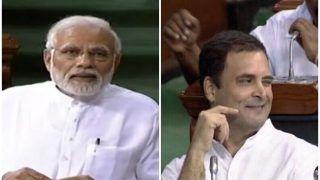 पीएम मोदी का राहुल पर तंज, पूरा देश टीवी पर 'आंखों का खेल' देख रहा था