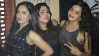 Bhojpuri Bombshell Monalisa And Television Hottie Puja Banerjee Stun in Black in Their Girl Gang Post - View Picture