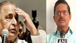 IPS अधिकारी अमिताभ ठाकुर को धमकी देने के मामले में मुलायम सिंह को क्लीन चिट