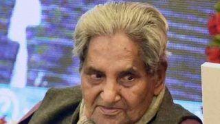 Gopaldas Neeraj, Noted Poet, Lyricist, Passes Away at 93