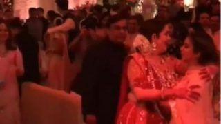 Nita Ambani and Mukesh Ambani Kiss Daughter Isha Ambani After an Emotional Dance, Watch