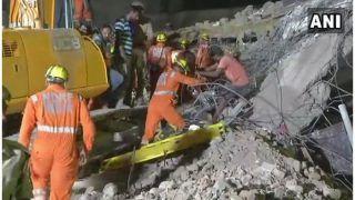ग्रेटर नोएडा: इमारत ढहने से अब तक 8 की मौत, बड़े अफसरों पर गिरी गाज