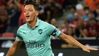 Mesut Ozil Shines on Return, Fires Arsenal to 5-1 Win Over PSG in Singapore