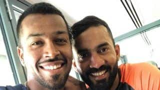 India vs England 2018: Hardik Pandya Posts Adorable Selfie With His 'No. 1 Love' Dinesh Karthik