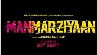 Manmarziyaan: Anurag Kashyap Directorial Release Date Declared, To Hit Theaters Soon