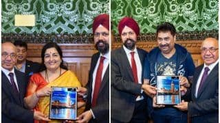 Veteran Playback Singers Kumar Sanu, Anuradha Paudwal Honoured at UK Houses of Parliament For Their Music and Contribution To Society
