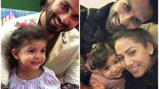 Shahid Kapoor's Daughter Misha Kapoor Visits The Actor on Batti Gul Meter Chalu Sets