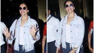 Deepika Padukone's Airport Look Will Give You Fashion Goals, Check Pictures