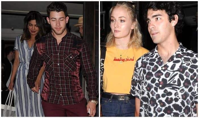 Image result for latest images of priyanka chopra and nick jonas and joe jonas with sophie turner