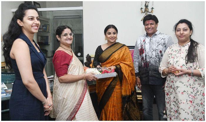 Image result for vidya balan NTR