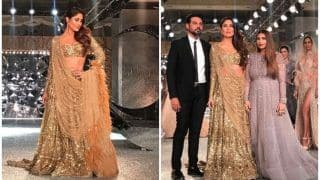 Kareena Kapoor Khan Rocked The Ramp in 30 Kg Lehenga at India Couture Week