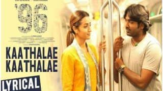 Vijay Sethupathi And Trish Krishnan's 'Kaadhale Kaadhale' Full Song From '96' Out And You Will Play it on Loop - Watch Video