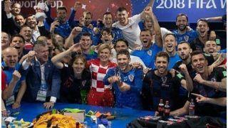 टीम ने रचा इतिहास, क्रोएशियाई राष्ट्रपति ने जश्न को बनाया 'खास', VIDEO