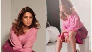 Bepannaah Actress Jennifer Winget Poses Cutely For Her Latest Shoot