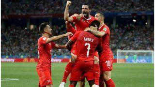 FIFA 2018: स्वीडन के खिलाफ स्विट्जरलैंड के पास इतिहास रचने का मौका