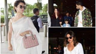 Priyanka Chopra, Kangana Ranaut and Aishwarya Rai Bachchan Look Gorgeous as They Are Spotted at the Airport