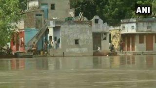 वीडियो: दिल्ली में खतरे से ऊपर बह रही यमुना, बस्तियों में घुसा पानी