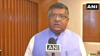 Ravi Shankar Prasad Pitches For Simultaneous Elections, Says Frequent Polls Lead to Expenditure of Public Money