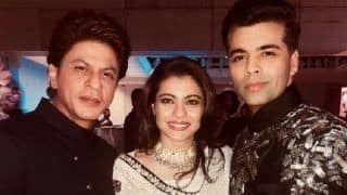 Shah Rukh Khan, Kajol and Karan Johar in One Frame, And we Only Hope They Collaborate For a Film!