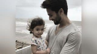 Shahid Kapoor Shares an Adorable Picture of Him Enjoying Sea Breeze With Daughter Misha