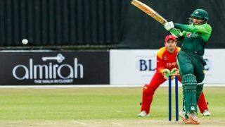 Zimbabwe vs Pakistan 4th ODI Live Streaming: When and Where To Watch on TV and Online
