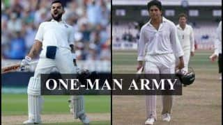 India vs England Tests: ICC No 1 Test Batsman Virat Kohli And Sachin Tendulkar Have Similarities, Times When They Were One-man Army