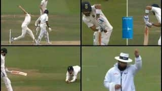 India vs England 2nd Test Day 4 Lord's: Stuart Broad Gets India Captain Virat Kohli as Debutant Ollie Pope Takes a Superb Catch -- WATCH