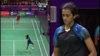 Asian Games 2018 at Jakarta and Palembang, Day 9: PV Sindhu Beats Akane Yamaguchi to Enter Finals; Saina Nehwal Settles For Bronze Taking India's Medal Tally to 37