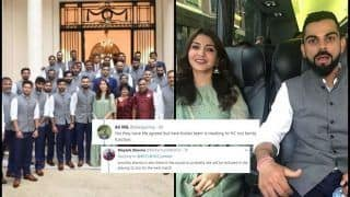 India vs England 2nd Test Lords: ICC No 1 Virat Kohli-Actress Anushka Sharma Get TROLLED For Their Visit to High Commission of India in London