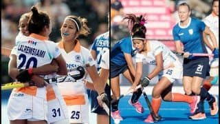 Women's Hockey World Cup 2018: India vs Italy Match Report -- Rani Rampal-Led Side Create History by Beating Italy 3-0, Thanks to Vandana, Lalremsiami And Neha