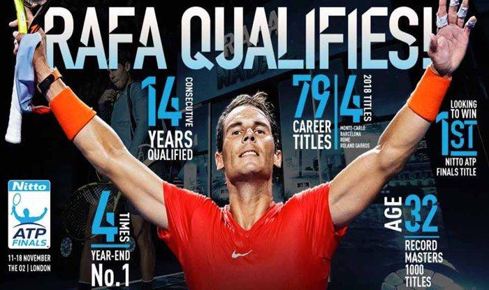 Atp World No 1 Rafael Nadal Withdraws From Cincinnati Masters India Com