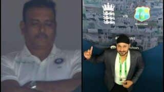 India vs England 1st Test, Day 1 Edgbaston: Former India Cricketer Caught Ravi Shastri Taking a Nap And Twitter is Abuzz -- WATCH