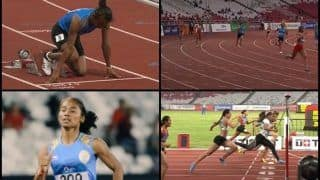 Asian Games 2018 Day 8 Jakarta: Hima Das Wins Silver in Women's 400 Metres, Takes Medal Tally to 36  -- WATCH