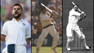 India vs England Tests: ICC No 1 Test Batsman Virat Kohli Overtakes Ricky Ponting, Donald Bradman With Unique Record of Most 200+ Runs in Winning Cause as Captain