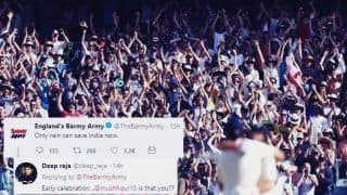 India vs England 3rd Test Nottingham: Barmy Army Gets Trolled For Asking Rain, as Virat Kohli-Led India Trash Joe Root's England at Trent Bridge