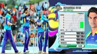 CPL 2018: Barbados Trident vs St Kitts and Nevis Patriots -- Mohammed Irfan Creates World Record, Bowls Most Economical Spell in T20 History