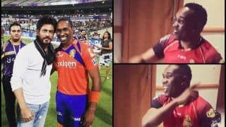 CPL T20: Trinbago Knight Riders Dwayne Bravo's Latest Song Will Surely Make Owner Shah Rukh Khan Happy -- WATCH